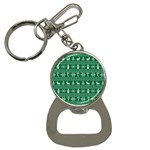 Ugly Christmas Bottle Opener Key Chains Front