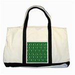 Ugly Christmas Two Tone Tote Bag Front