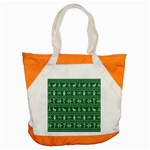 Ugly Christmas Accent Tote Bag Front