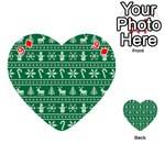 Ugly Christmas Playing Cards 54 (Heart)  Front - Diamond9