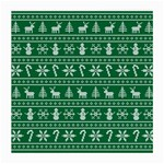Ugly Christmas Medium Glasses Cloth Front