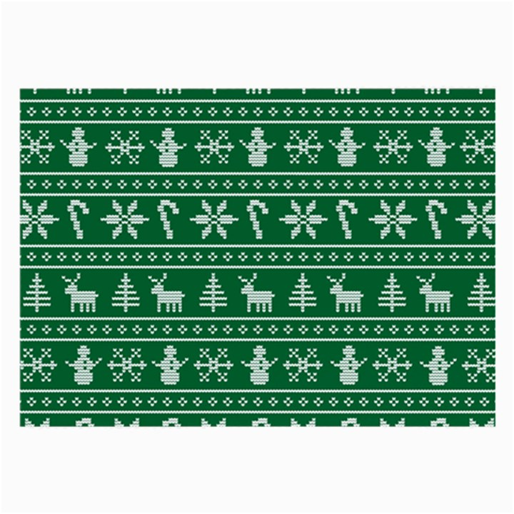 Ugly Christmas Large Glasses Cloth