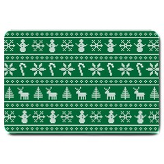 Ugly Christmas Large Doormat