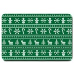 Ugly Christmas Large Doormat  30 x20 Door Mat - 1
