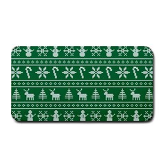 Ugly Christmas Medium Bar Mats