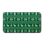 Ugly Christmas Medium Bar Mats 16 x8.5 Bar Mat - 1