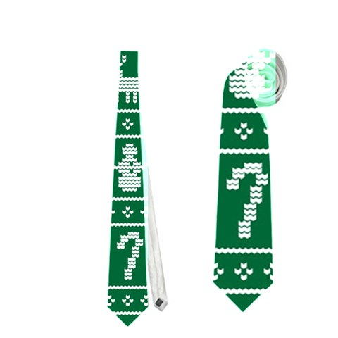 Ugly Christmas Neckties (One Side)