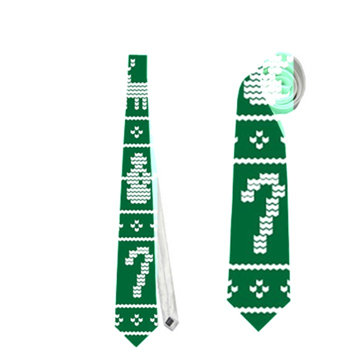 Ugly Christmas Neckties (Two Side)