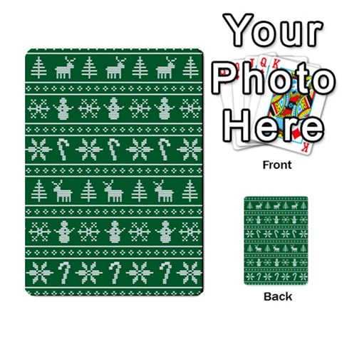 Ugly Christmas Multi-purpose Cards (Rectangle)