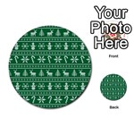 Ugly Christmas Multi-purpose Cards (Round)  Back 40