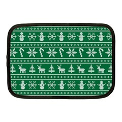 Ugly Christmas Netbook Case (medium)