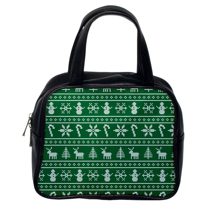 Ugly Christmas Classic Handbags (One Side)
