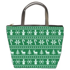 Ugly Christmas Bucket Bags
