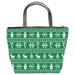 Ugly Christmas Bucket Bags Back
