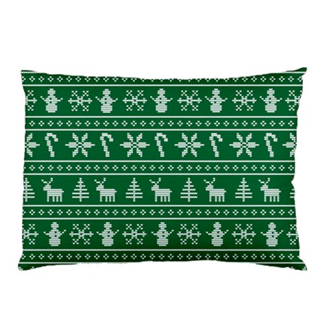 Ugly Christmas Pillow Case