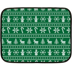 Ugly Christmas Double Sided Fleece Blanket (Mini)