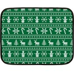 Ugly Christmas Double Sided Fleece Blanket (Mini)  35 x27 Blanket Back