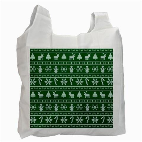 Ugly Christmas Recycle Bag (Two Side)