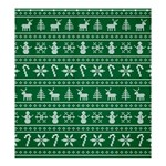 Ugly Christmas Shower Curtain 66  x 72  (Large)  58.75 x64.8 Curtain