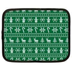Ugly Christmas Netbook Case (xl)