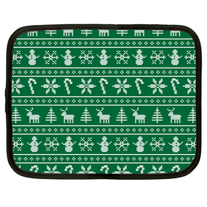 Ugly Christmas Netbook Case (XXL)