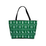 Ugly Christmas Shoulder Handbags Front