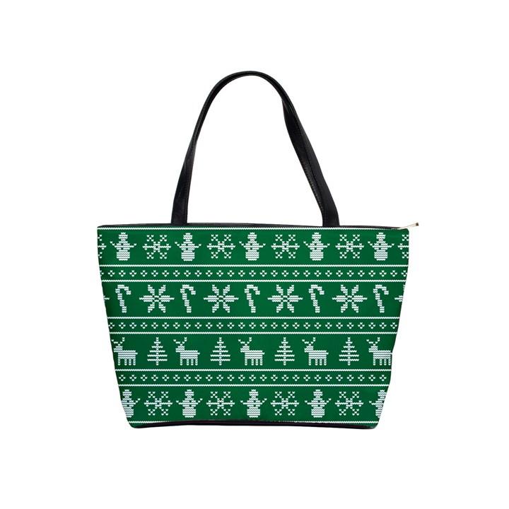 Ugly Christmas Shoulder Handbags