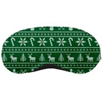 Ugly Christmas Sleeping Masks Front