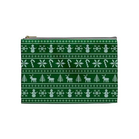 Ugly Christmas Cosmetic Bag (Medium)