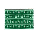 Ugly Christmas Cosmetic Bag (Large)  Back