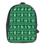 Ugly Christmas School Bags(Large)  Front