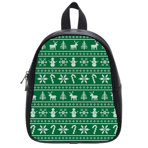 Ugly Christmas School Bags (Small)