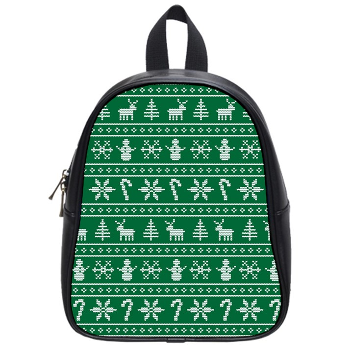 Ugly Christmas School Bags (Small)