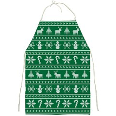 Ugly Christmas Full Print Aprons