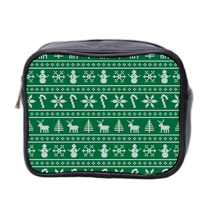 Ugly Christmas Mini Toiletries Bag 2-Side