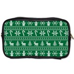 Ugly Christmas Toiletries Bags Front