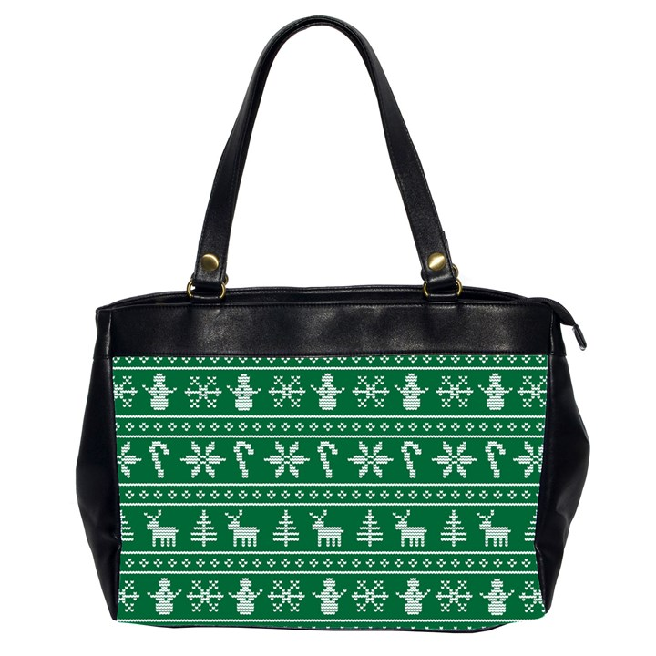 Ugly Christmas Office Handbags (2 Sides)