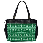 Ugly Christmas Office Handbags (2 Sides)  Back