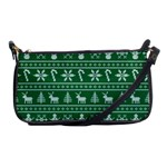 Ugly Christmas Shoulder Clutch Bags Front