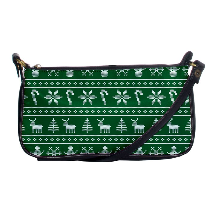 Ugly Christmas Shoulder Clutch Bags