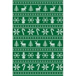 Ugly Christmas 5.5  x 8.5  Notebooks Back Cover