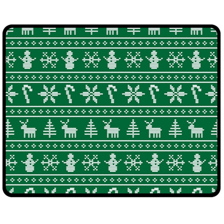 Ugly Christmas Fleece Blanket (Medium)