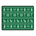 Ugly Christmas Fleece Blanket (Small) 50 x40 Blanket Front