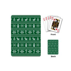 Ugly Christmas Playing Cards (Mini)