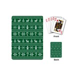 Ugly Christmas Playing Cards (Mini)  Back