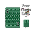 Ugly Christmas Playing Cards 54 (Mini)  Front - SpadeK