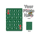 Ugly Christmas Playing Cards 54 (Mini)  Front - Heart9