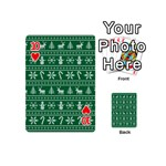 Ugly Christmas Playing Cards 54 (Mini)  Front - Heart10