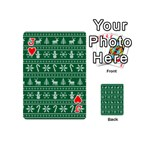 Ugly Christmas Playing Cards 54 (Mini)  Front - HeartJ