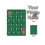 Ugly Christmas Playing Cards 54 (Mini)  Front - HeartK